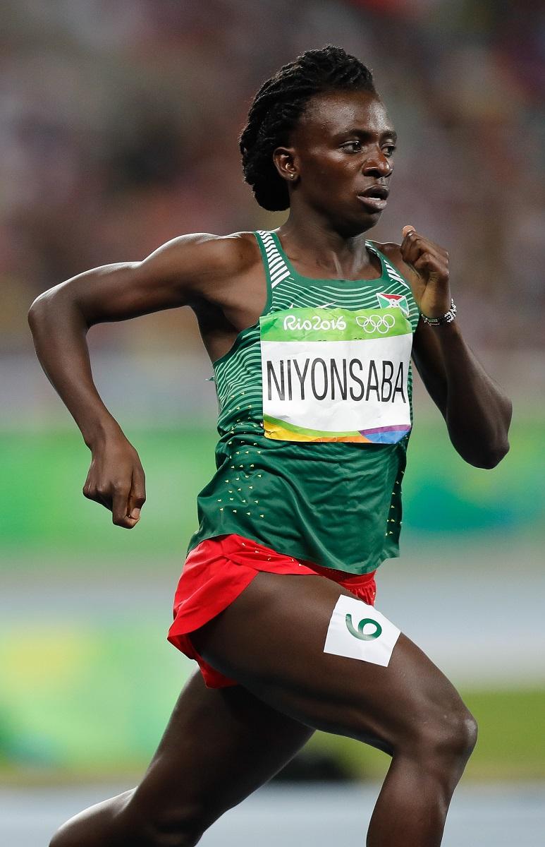 Mundiais Atletismo Pista Coberta Birmingham 2018 - Francine Niyonsaba vence 800m
