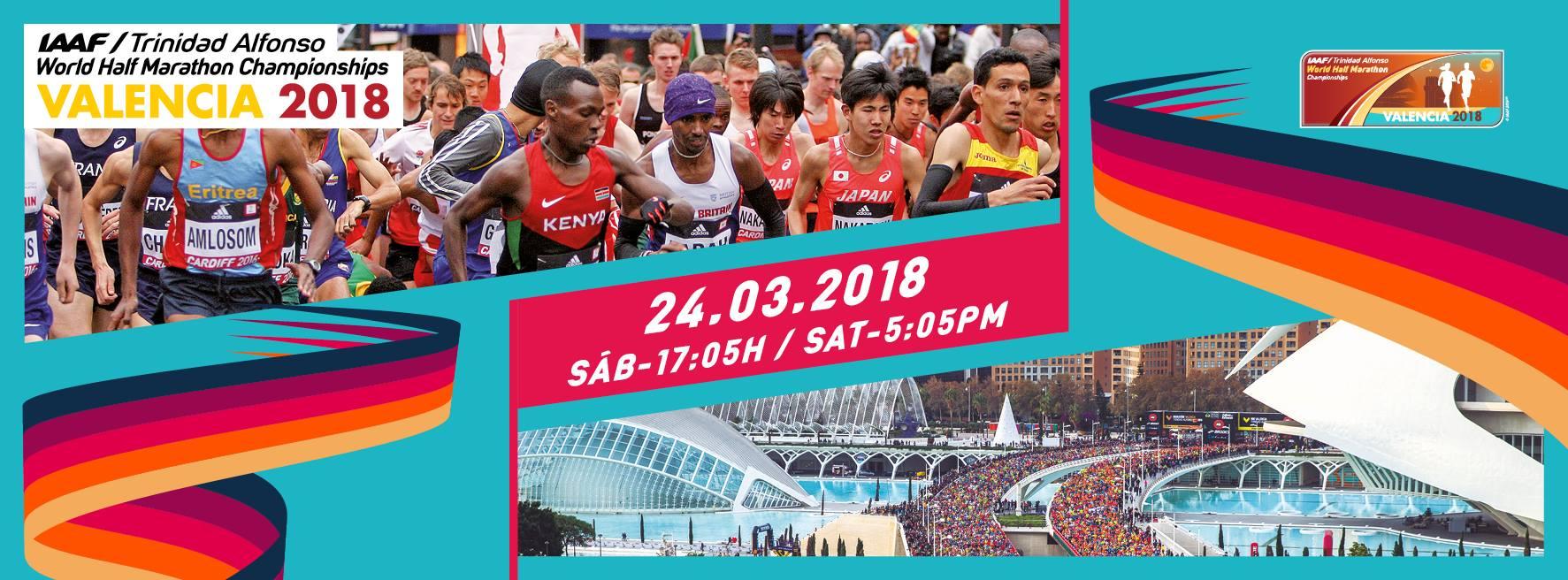 Campeonato Mundial da Meia Maratona - Valência 2018