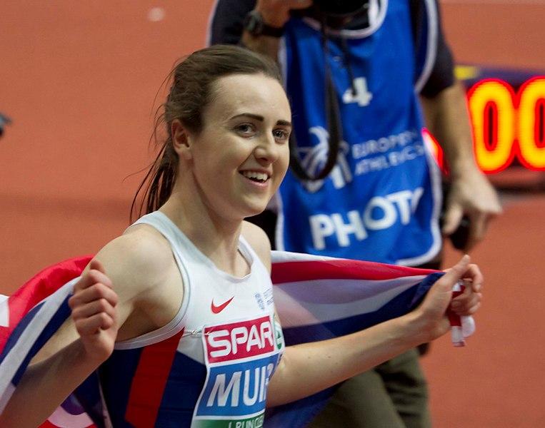 Laura Muir - Mundiais Atletismo Pista Coberta Birmingham 2018