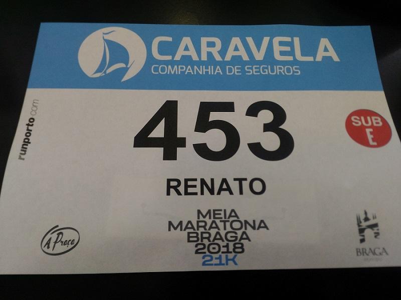 Correr com Dorsal VIP - Meia Maratona Braga 2018