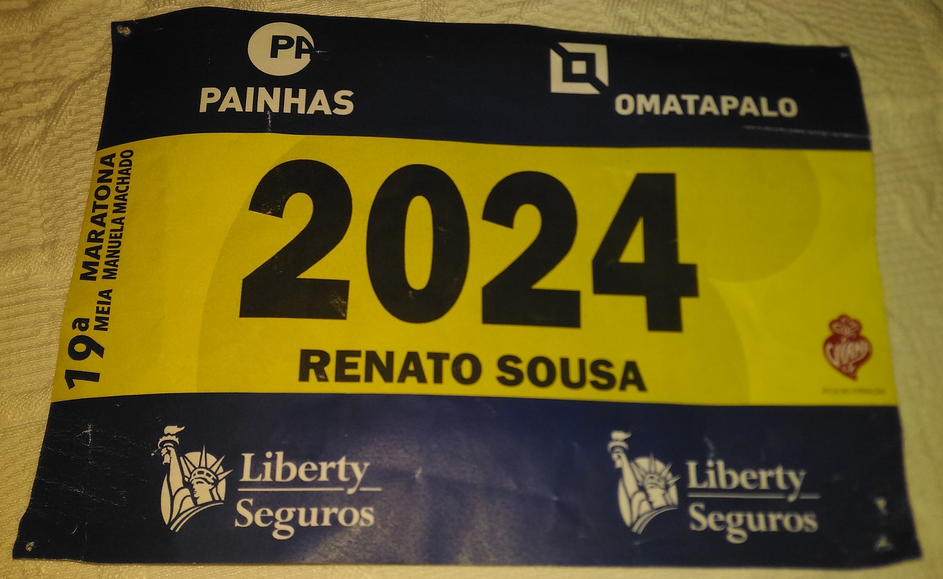 Correr com Dorsal VIP - XIX Meia Maratona Manuela Machado