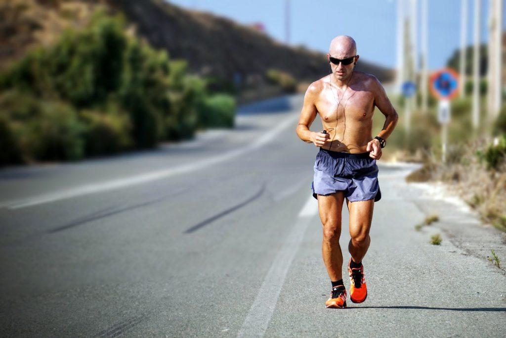 Correr com o calor - Atletismo