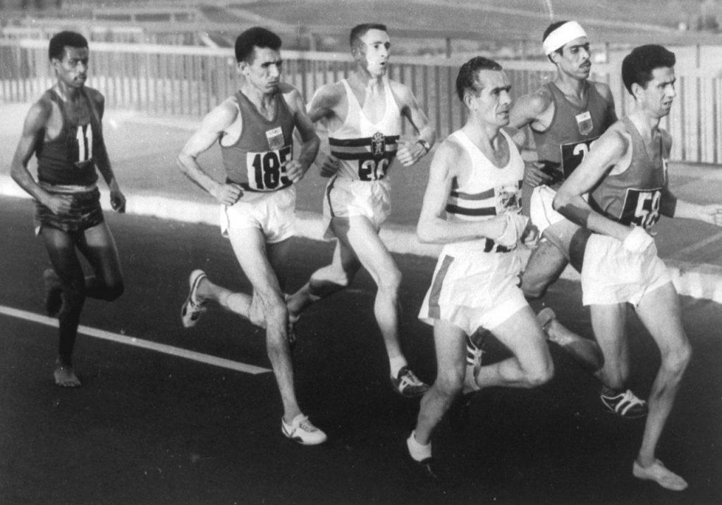 Abebe Bikila - Maratona Olímpica Roma 1960