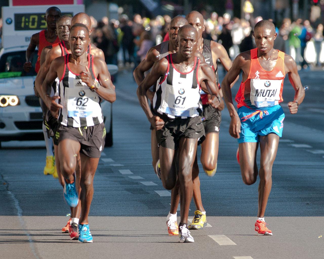 Maratona de Berlim: prova de recordes do mundo