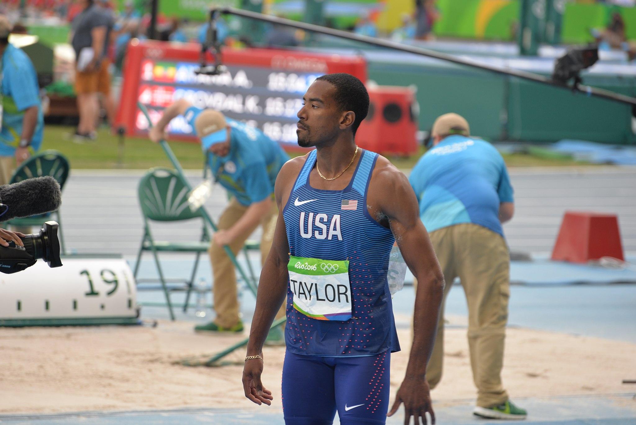 Christian Taylor Triplo Salto - Jogos Olímpicos Rio 2016