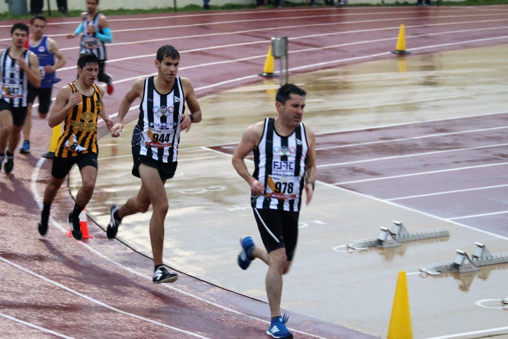 estreia 1500 metros atletismo pista
