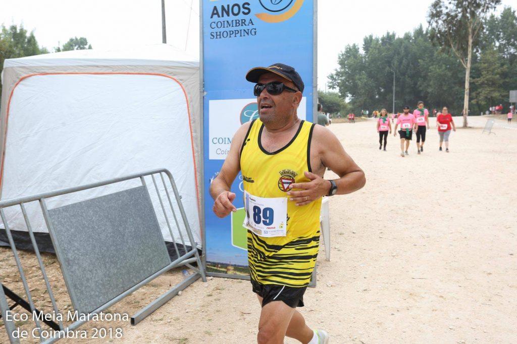 Joaquim Gomes - Atletismo Rio Largo Clube de Espinho - Eco Meia Maratona de Coimbra 2018