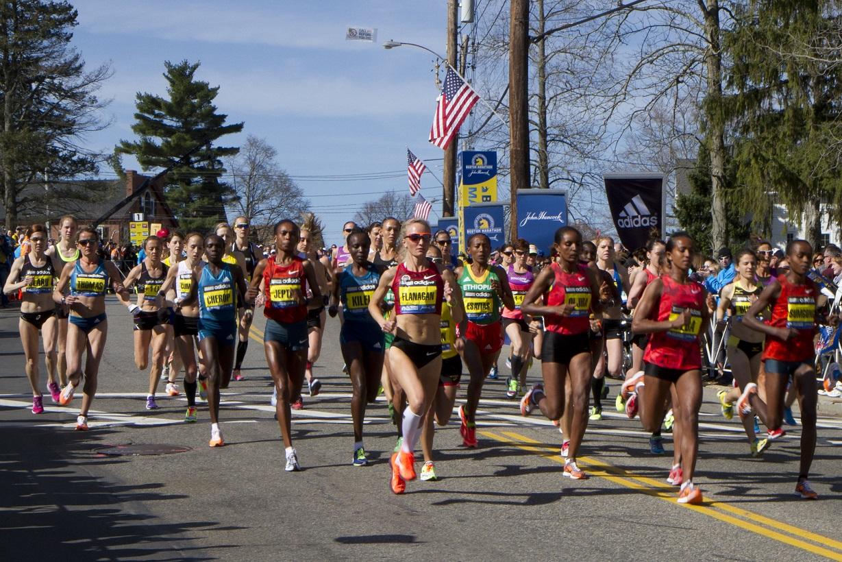 Maratona de Boston 2020 - Homens vão partir primeiro que as Mulheres