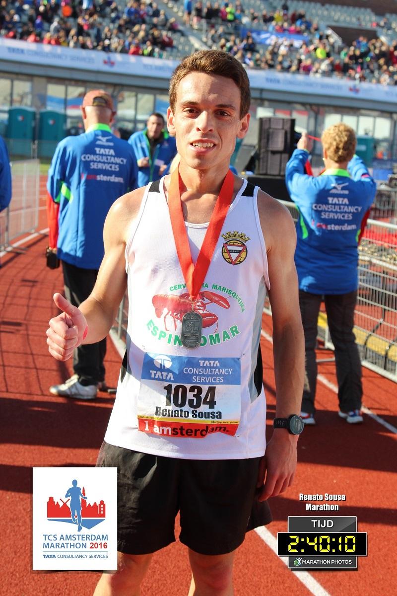 Maratona de Amesterdão 2016 - Medalha