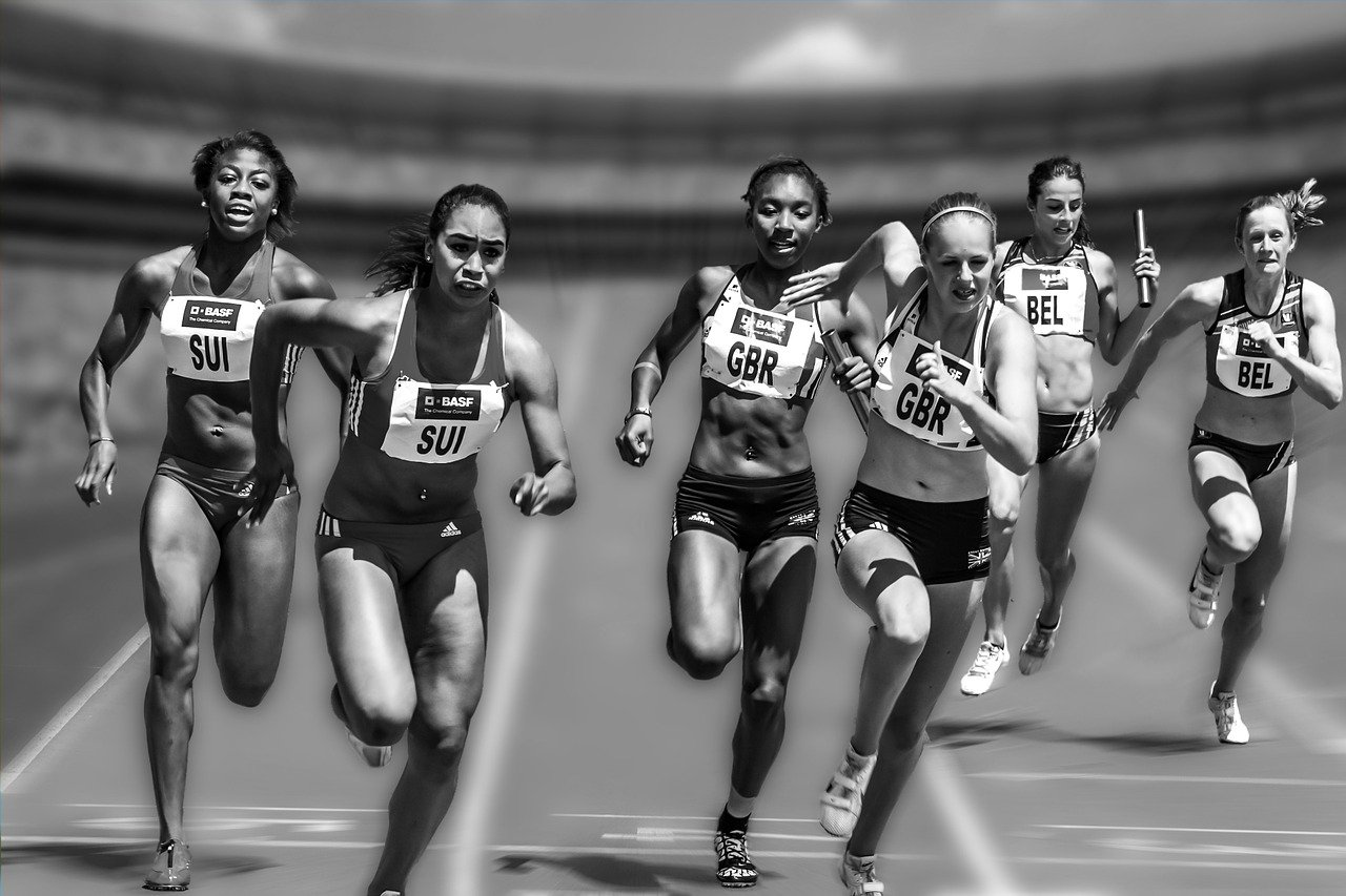 Corrida por Estafetas - Atletismo de Pista